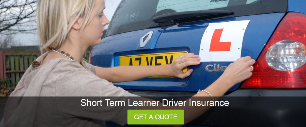 picture Short Term Learner Driver insurance
