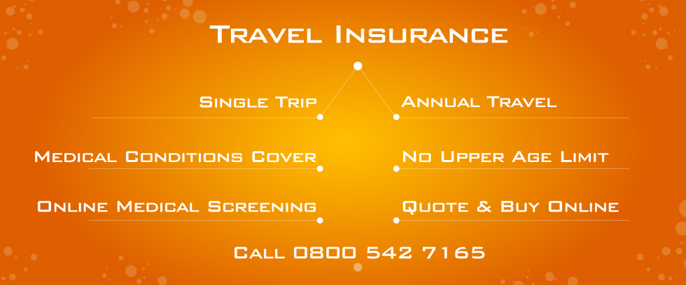 Over 90 Travel Insurance with Online Medical Screening